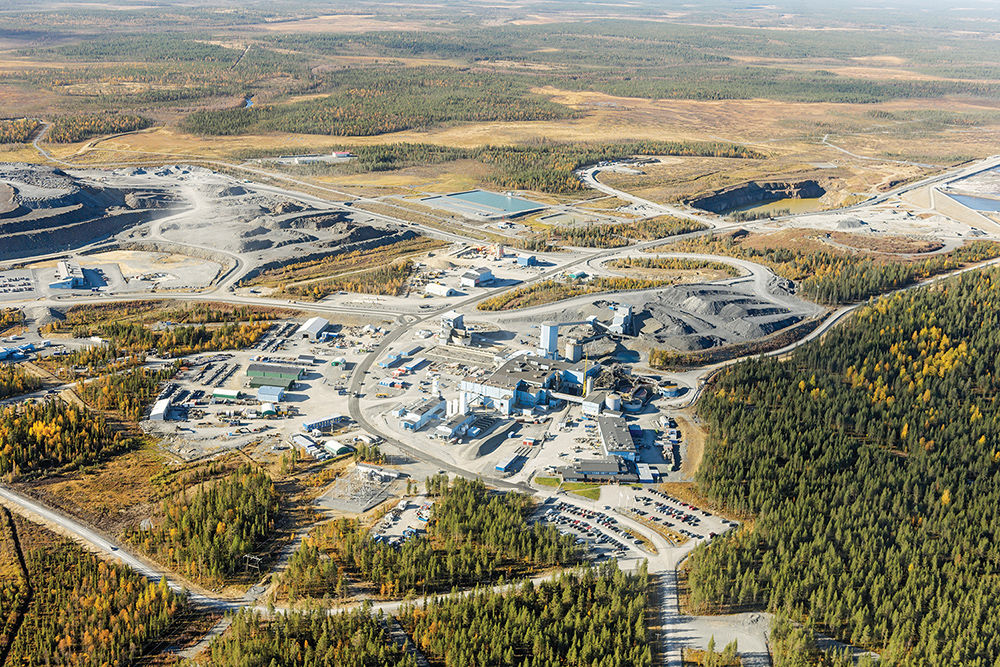 ittila is uropes biggest gold mine producing 200000oz in 2016