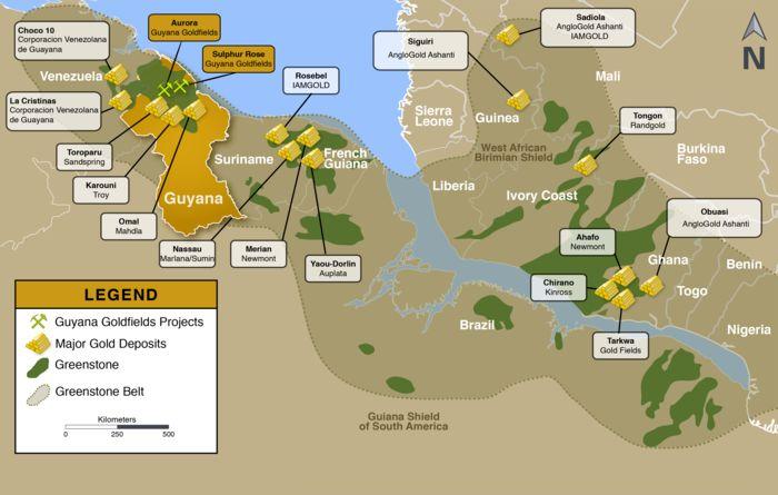 The Guiana Shield lowers its guard