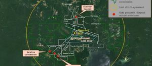 Drilling increases IAMGOLD's confidence in Saramacca