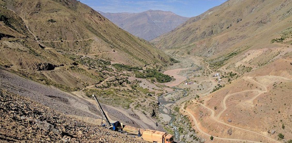Los Andes closes in on Vizcachitas core