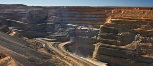 Miners lower despite positive market mood