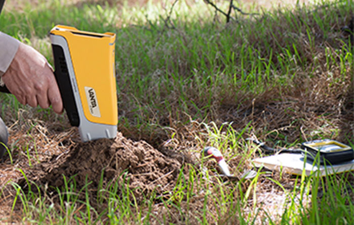 Accuracy and fast ROI in soil analysis with Vanta