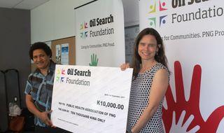 Foundation backs public health talks
