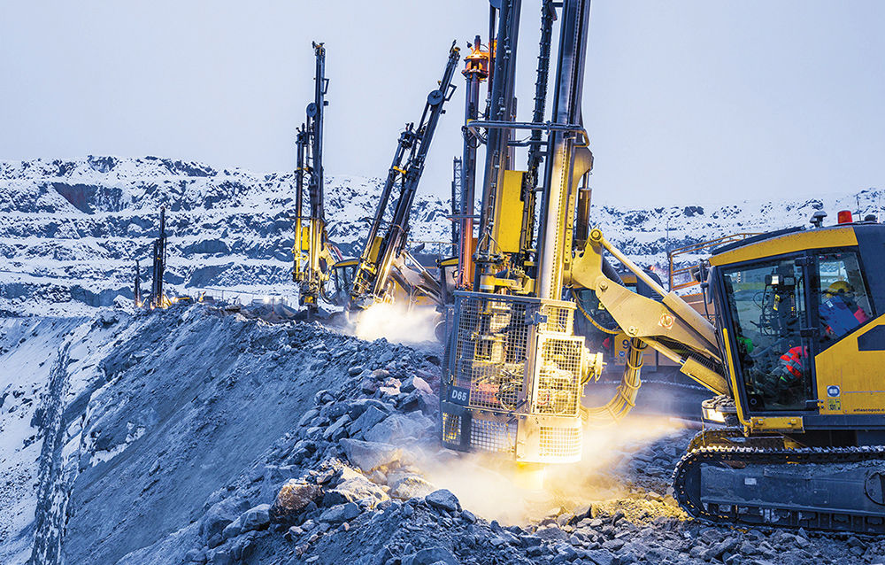 here is a high level of drilling expertise in inland and widely available geological data