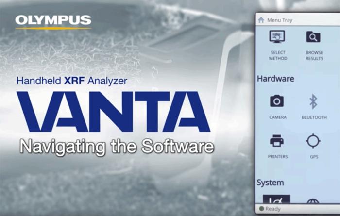 Video: Vanta Handheld XRF Analyzer | Navigating the Software