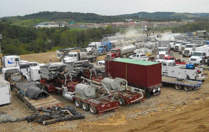 Fracking boost for US stocks