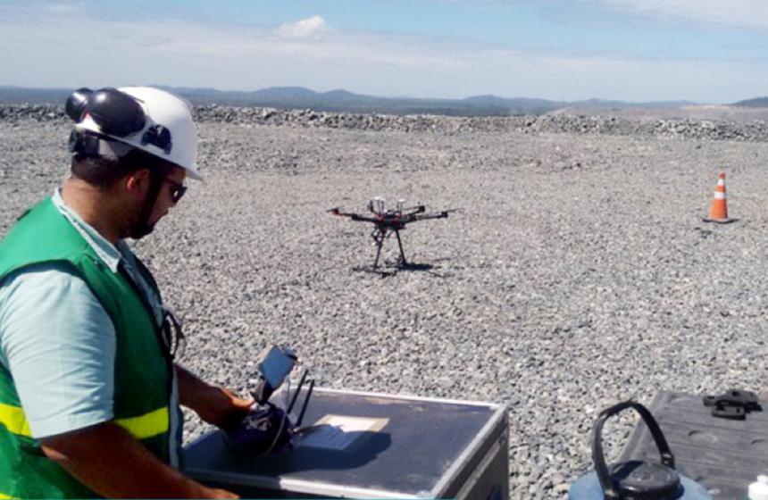 Vale usa drone para tornar trabalho mais ágil em mina no PA