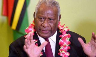 Vanuatu mourns president's death