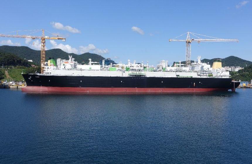 Shell LNG shipping optimism