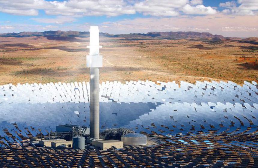 SA backs solar thermal giant