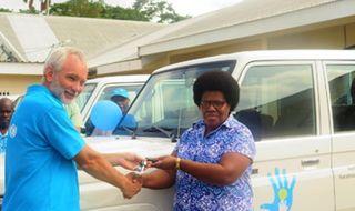 UNICEF donates vehicles to help Vanuatu vaccinations