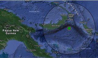 Big quake off New Britain