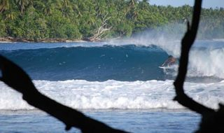 Surf longboard champs for Madang