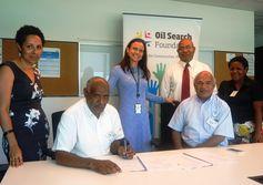 Oil Search backs Kikori literacy library